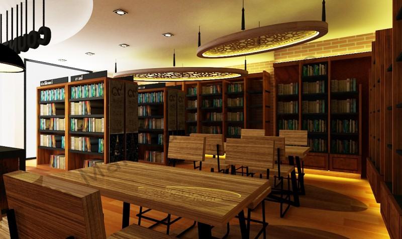 ปรับปรุงตกแต่งภายในห้องสมุดเฉลิมพระเกียรติสมเด็จพระเทพรัตนราชสุดาฯ สยามบรมราชกุมารีในโอกาสฉลองพระชนมายุครบ 5 รอบ 2 เมษายน 2558